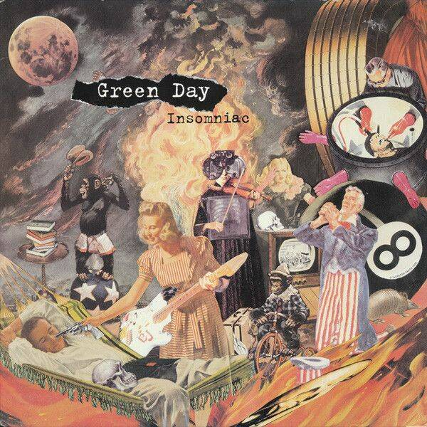 Green Day Insomnia CD