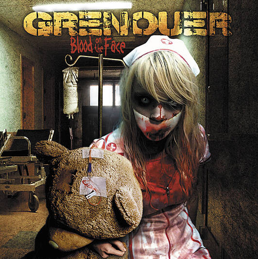GRENOUER Blood on the face CD