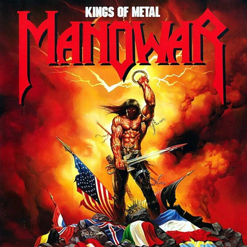 MANOWAR Kings of steel CD