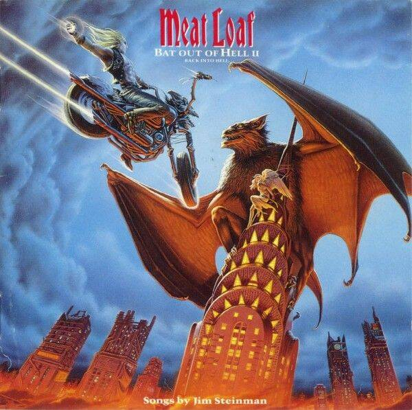 MEAT LOAF Bat out of hell II back into hell CD