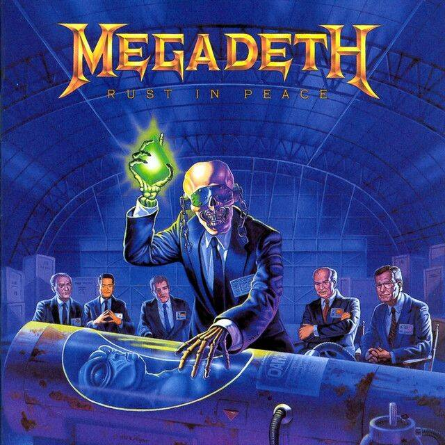 MEGADETH Rest in peace CD