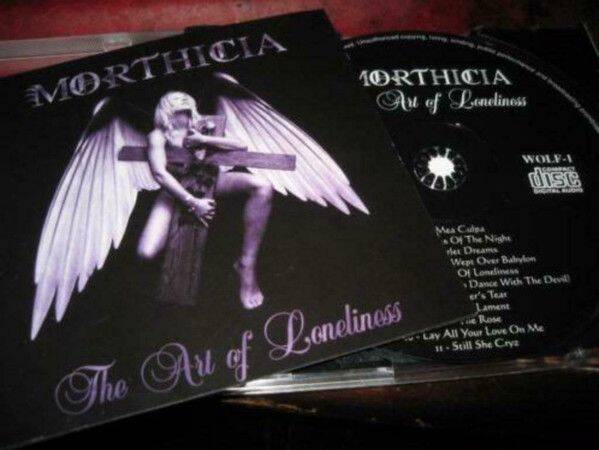 MORTHICIA The art of loneliness (CD)