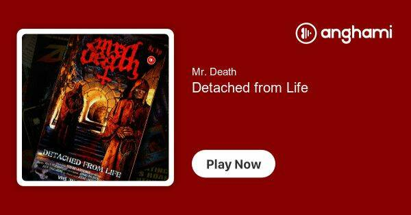 Mr Death  Detached from life CD