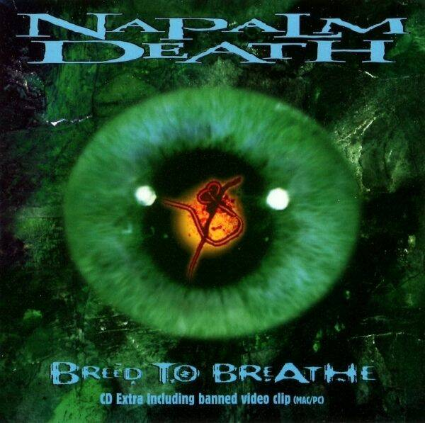 Napalm Death Breath the breath CD