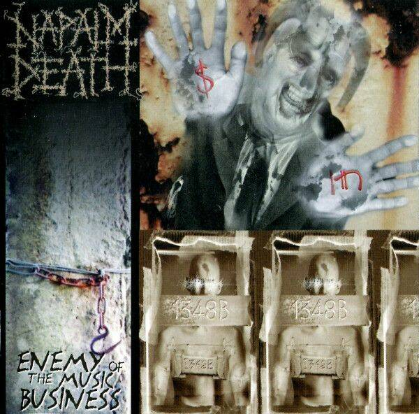 Napalm Death  Enemy of the music business CD
