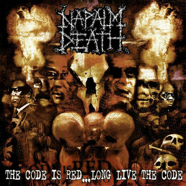 Napalm Death The code is red…long live the code CD