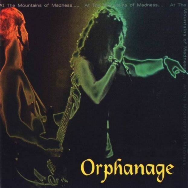 ORPHANAGE AT THE MOUNTAINS OF MADNESS CD