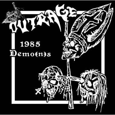 OUTRAGE 1985 demo(n)s CD