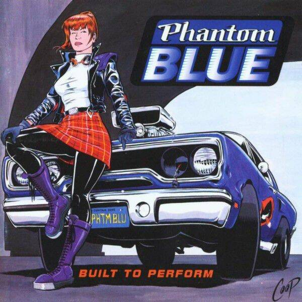 PHANTOM BLUE Built to perform CD