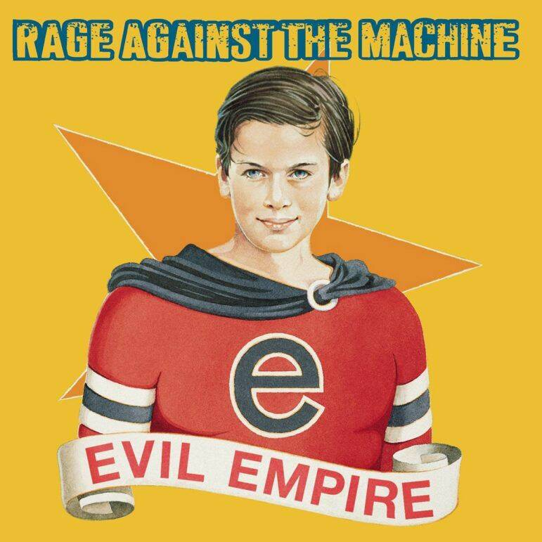 RAGE AGAINST THE MACHINE Evil empire CD