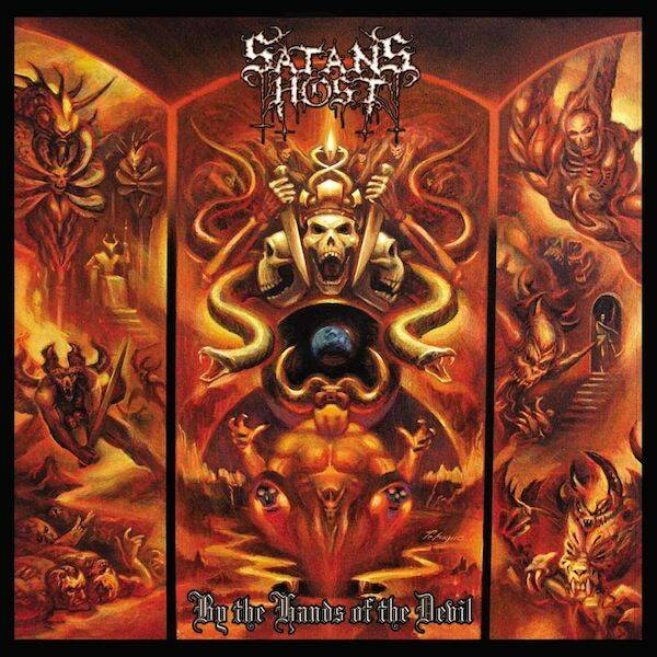 SATANS HOST - By The Hands Of Teh Devil CD