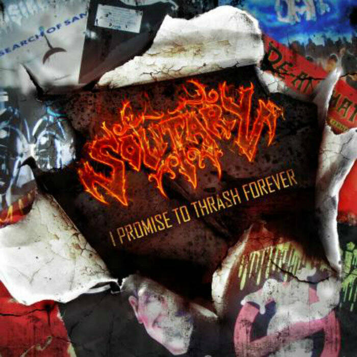 SOLITARY I promise to thrash forever CD