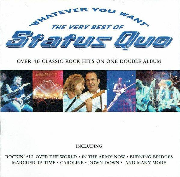 STATUS QUO Whatever you want the very best of status quo (2 CD) CD
