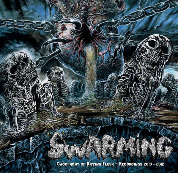 SWARMING Cacophony of ripping flesh-recordings 2010-2012 CD