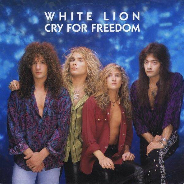 WHITE LION Cry for freedom (single) CD