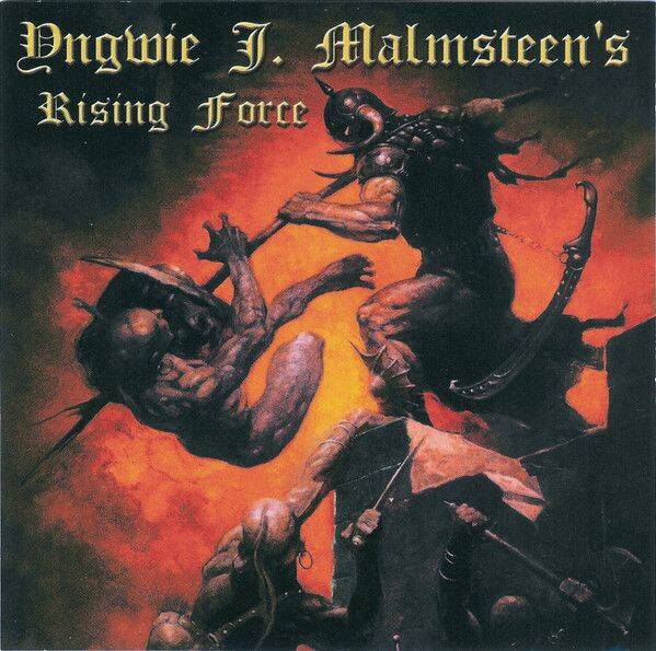 YNGWIE J.MALMSTEEN'S RISING FORCE War to end all wars CD