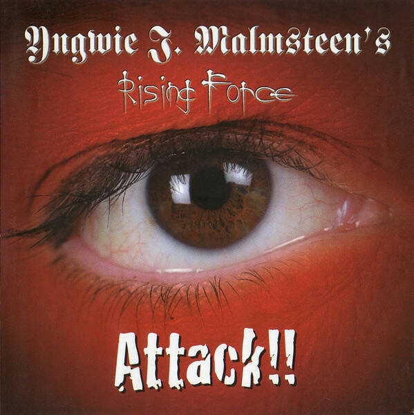 YNGWIE J. MALMSTEEN'S RISING FORCE Attack!! CD