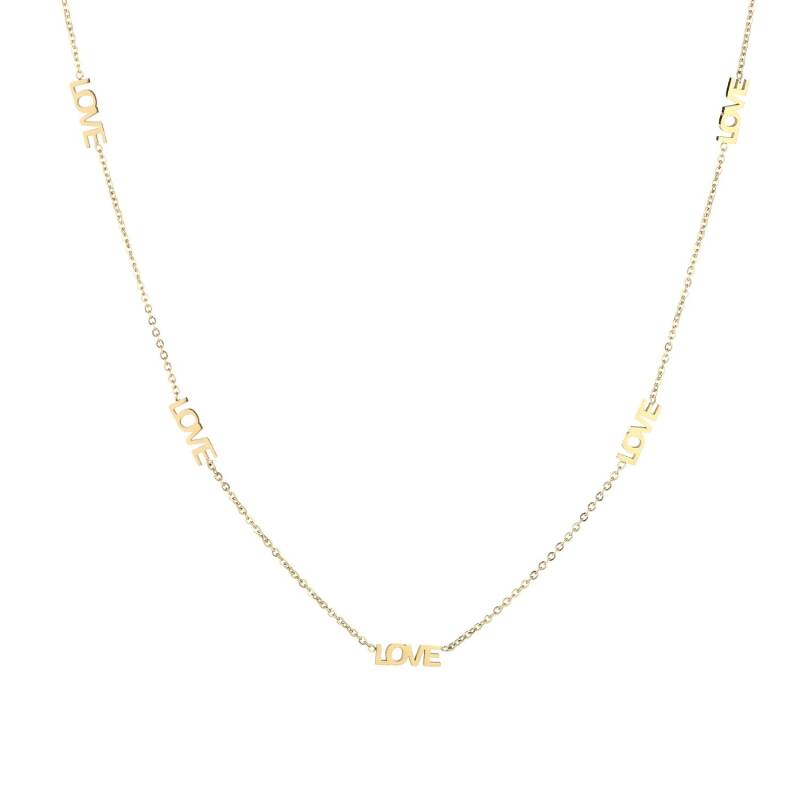 Lots of love necklace - Gold