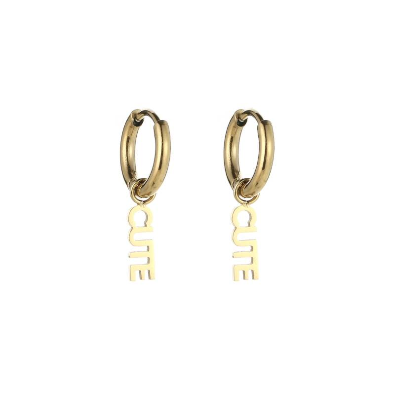 Cute earrings - Gold