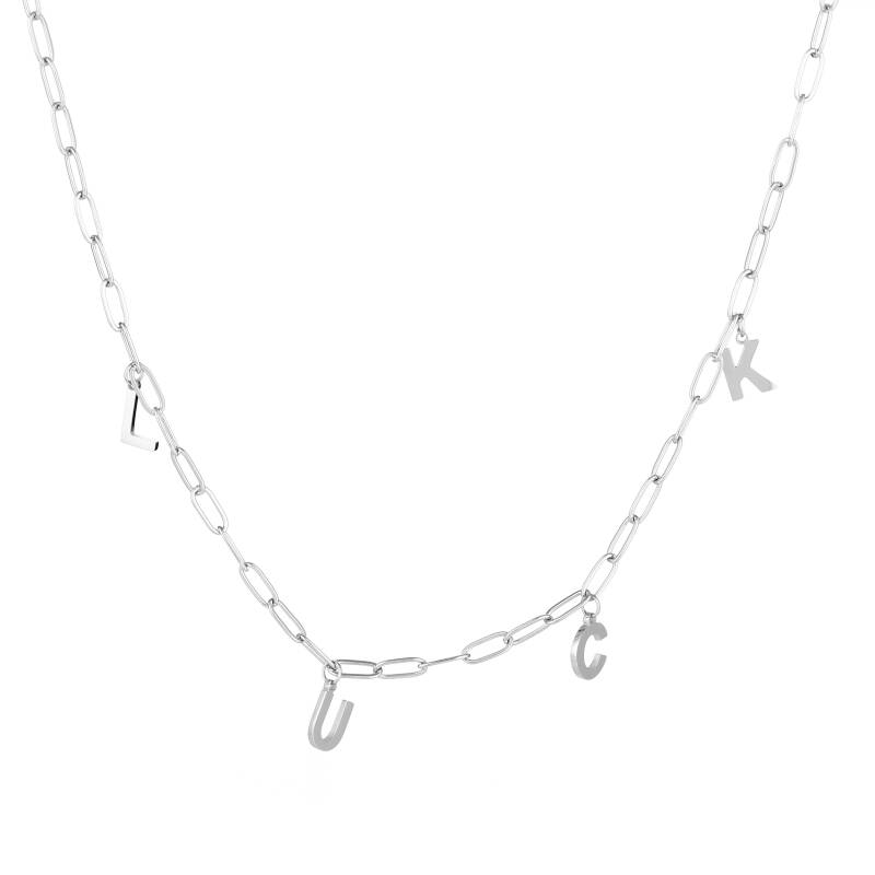Luck chain necklace - Silver