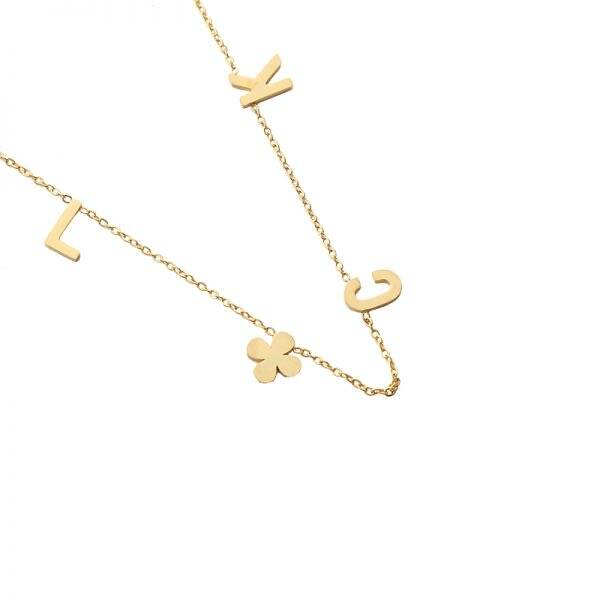 Luck necklace - Gold