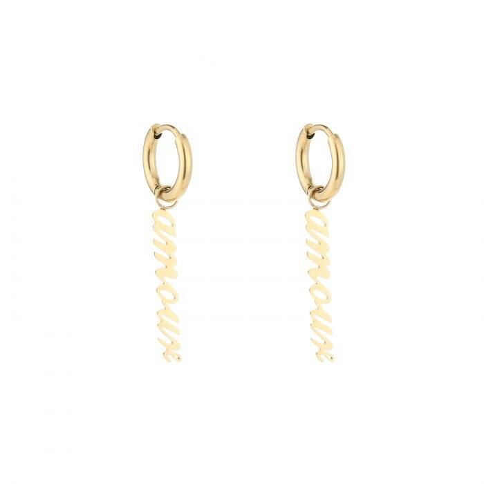 Amour earrings - Gold