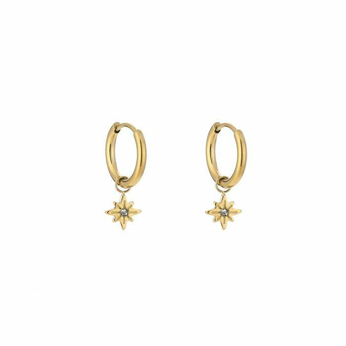 Shine earrings - Gold