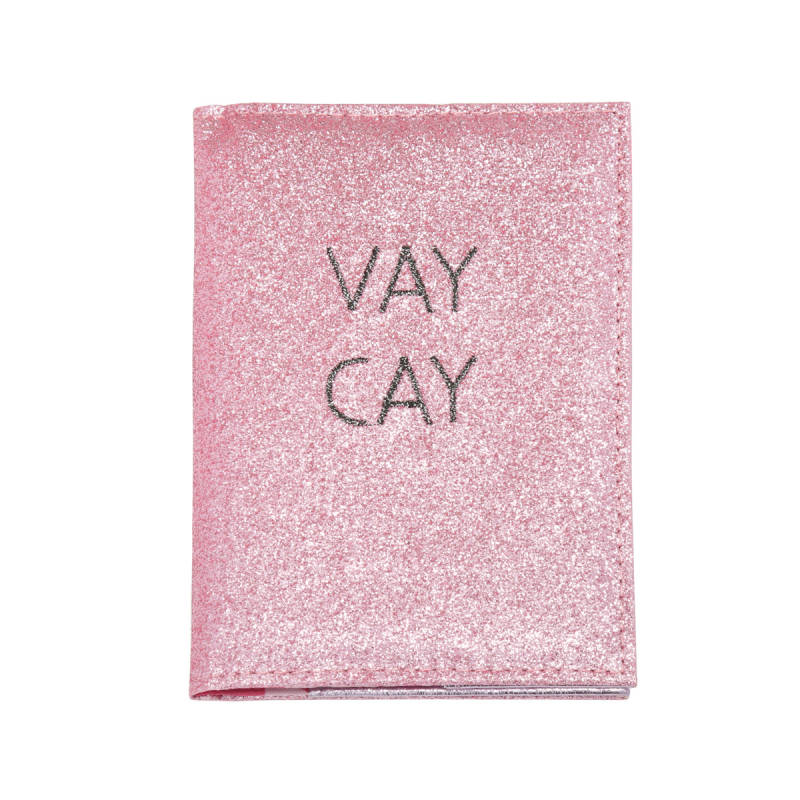 Vacay passport case - pink