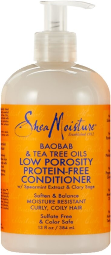Shea Moisture Baobab & Tea Tree Oils Low Porosity Conditioner, 384 ml*