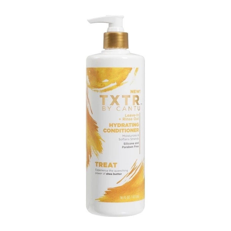 Cantu TXTR Leave-In + Rinse Out Conditioner. 473 ml