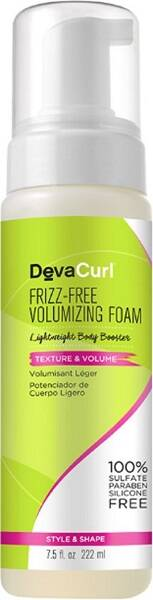 DevaCurl Frizz-Free Volumizing Foam, 222 ml*