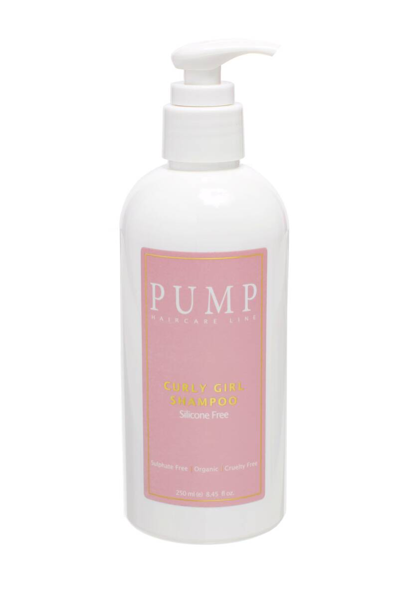 Pump Curly Girl Shampoo, 250 ml