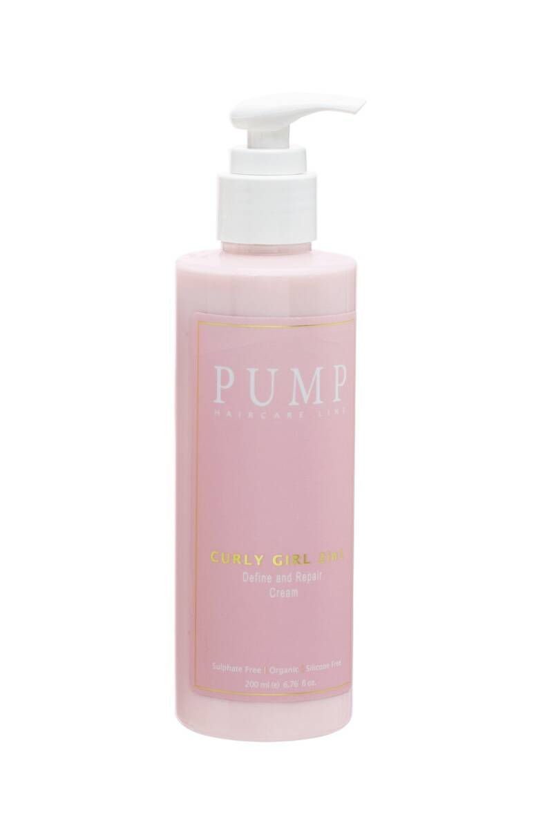 Pump Curly Girl 2in1 Define & Repair Creme, 200 ml