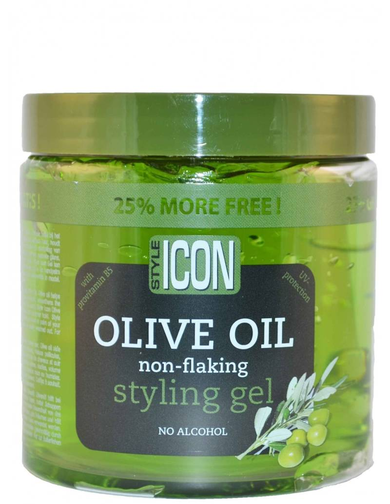 StyleIcon Olive Oil Styling Gel, 525 ml