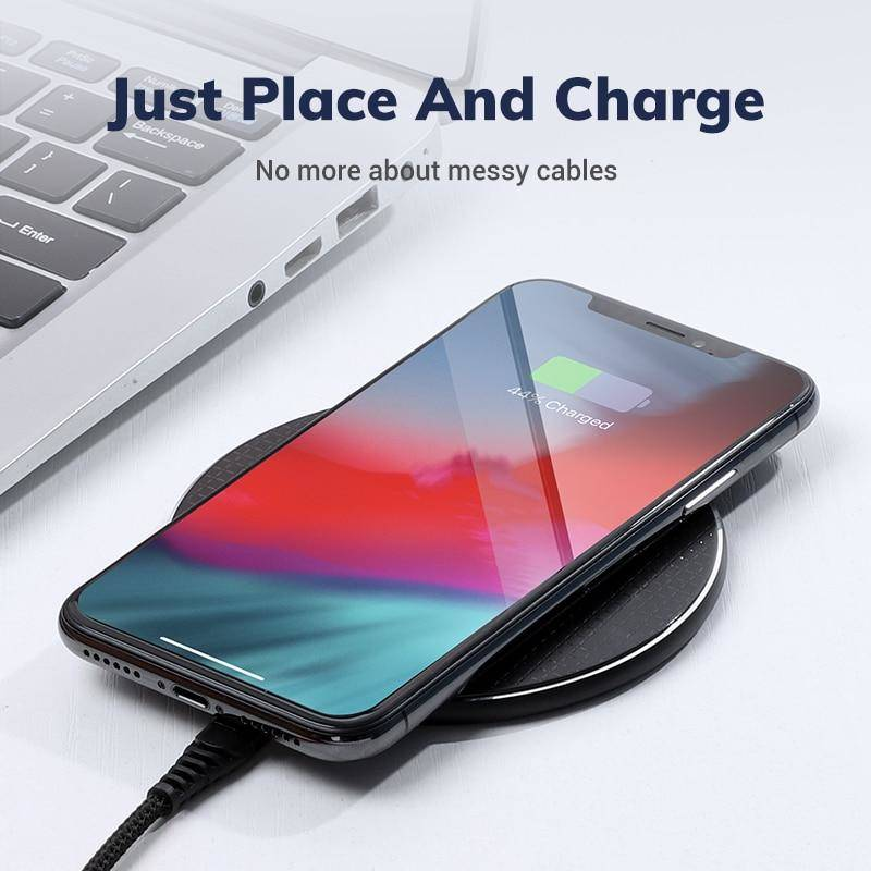 B01W 10W Fast Charging Wireless Charger