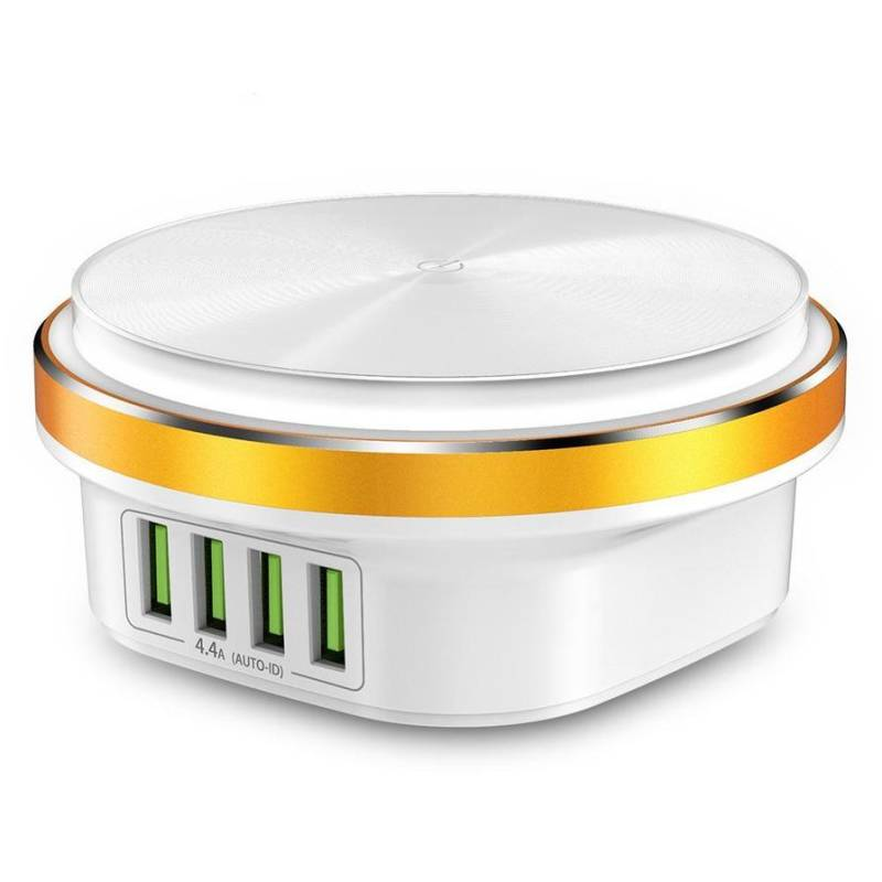 TOPK B433 22W 4 Port Auto-ID Desktop USB Charger