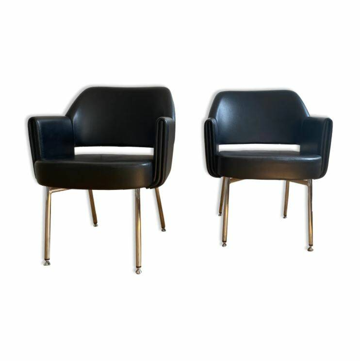 Set of two club chairs Deauville by Airborn