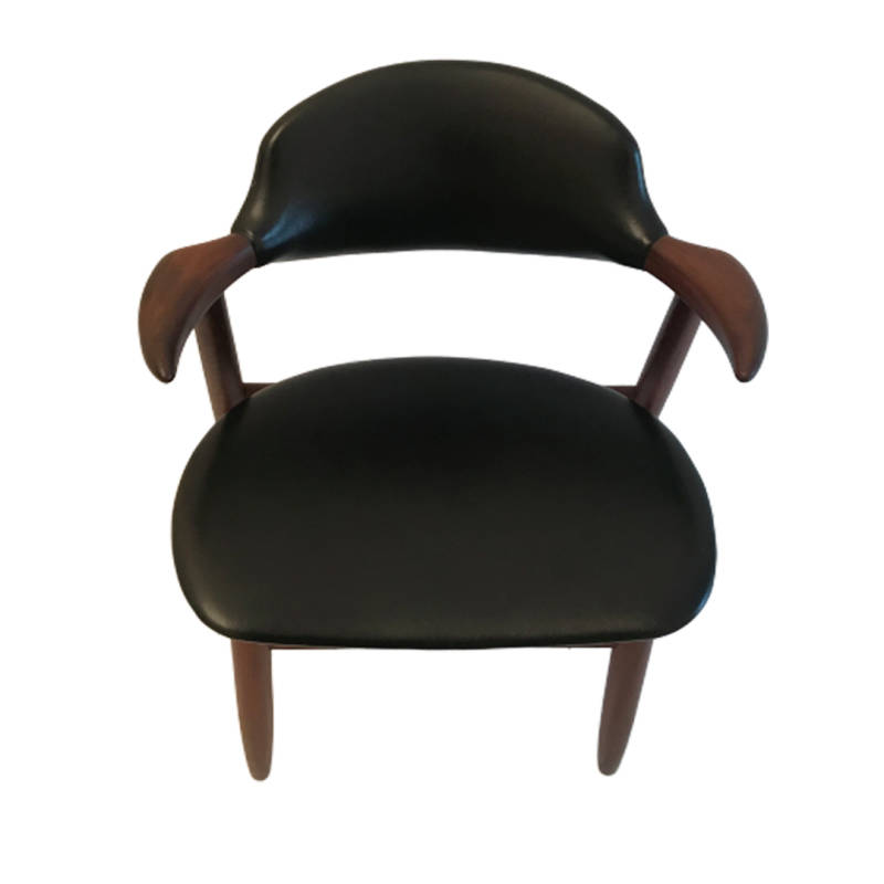 Set of 2 Theo Tijsseling cowhorn chairs