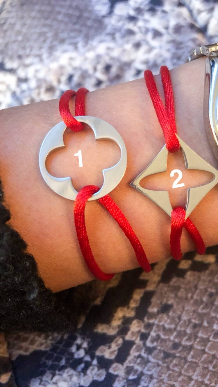 Red Clover armband