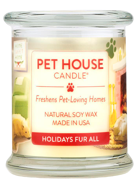 Pet House Candle | Holiday fur all