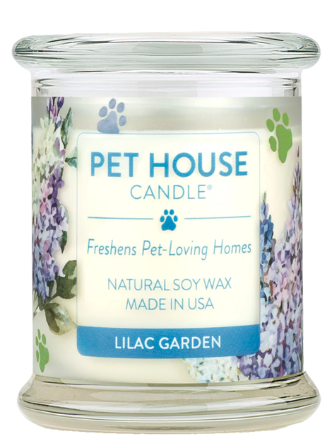 Pet House Candle | Lilac garden