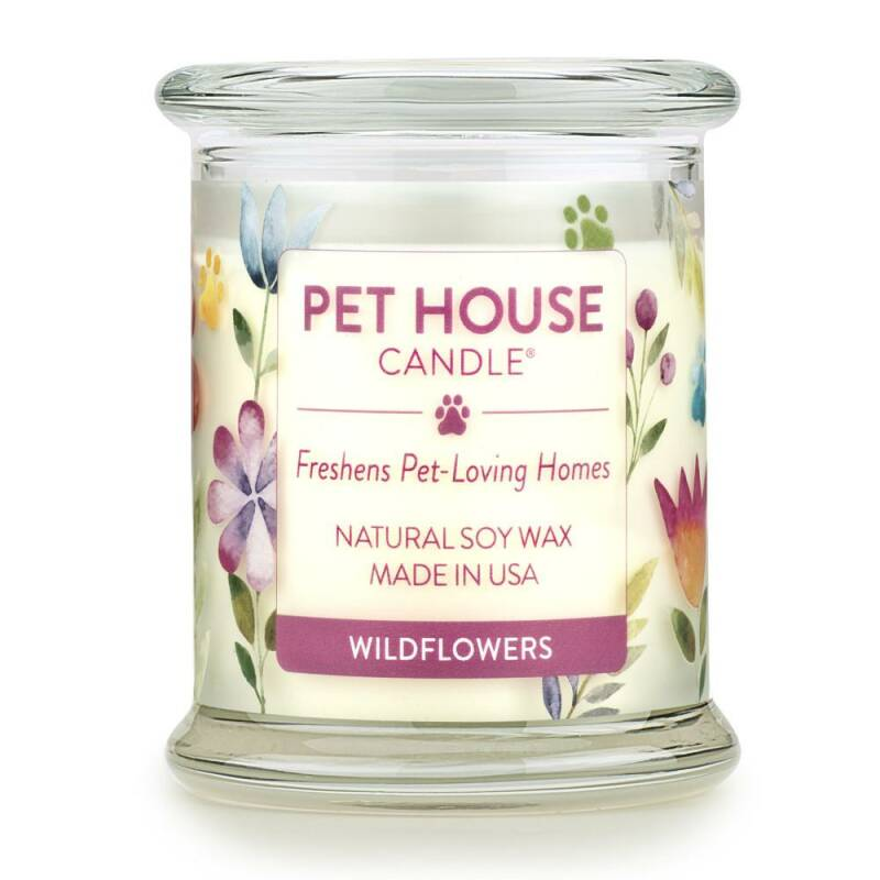 Pet House Candle | Wildflowers