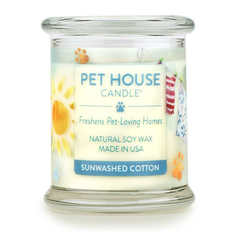 Pet House Candle | Sunwashed Cotton