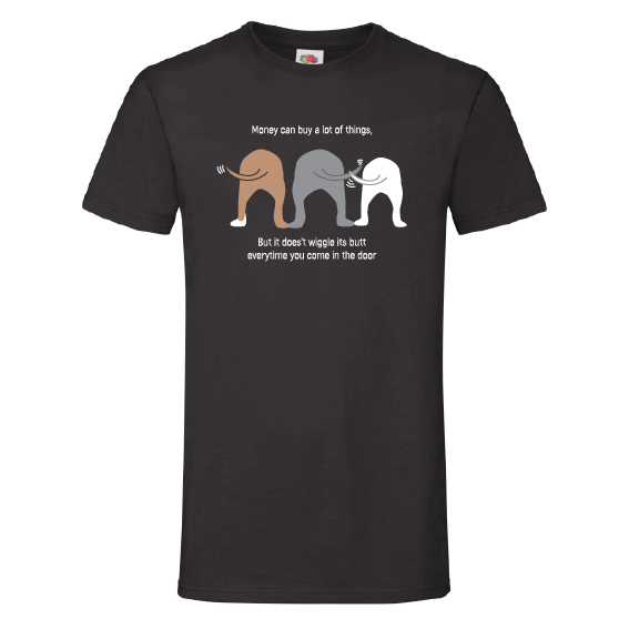 Honden t-shirts | Wiggle his but