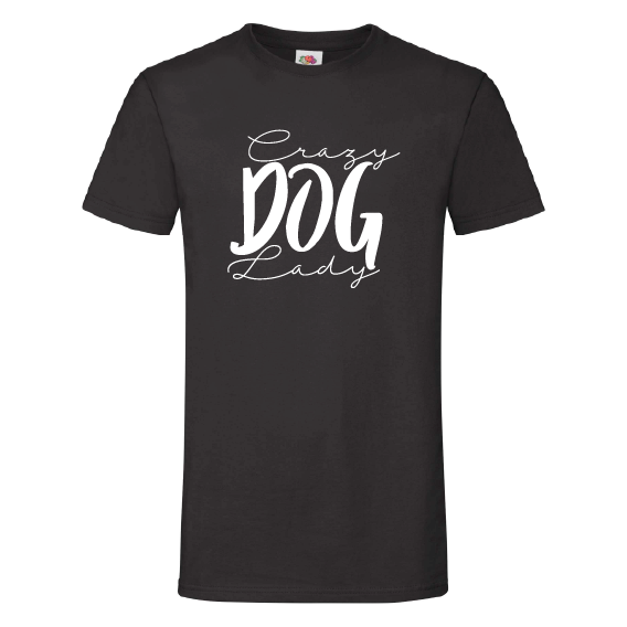Honden t-shirts | Crazy dog lady
