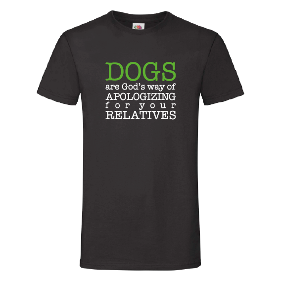 Honden t-shirts   Dogs and relatives