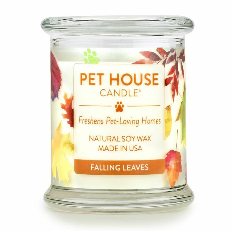 Pet House Candle | Falling leaves