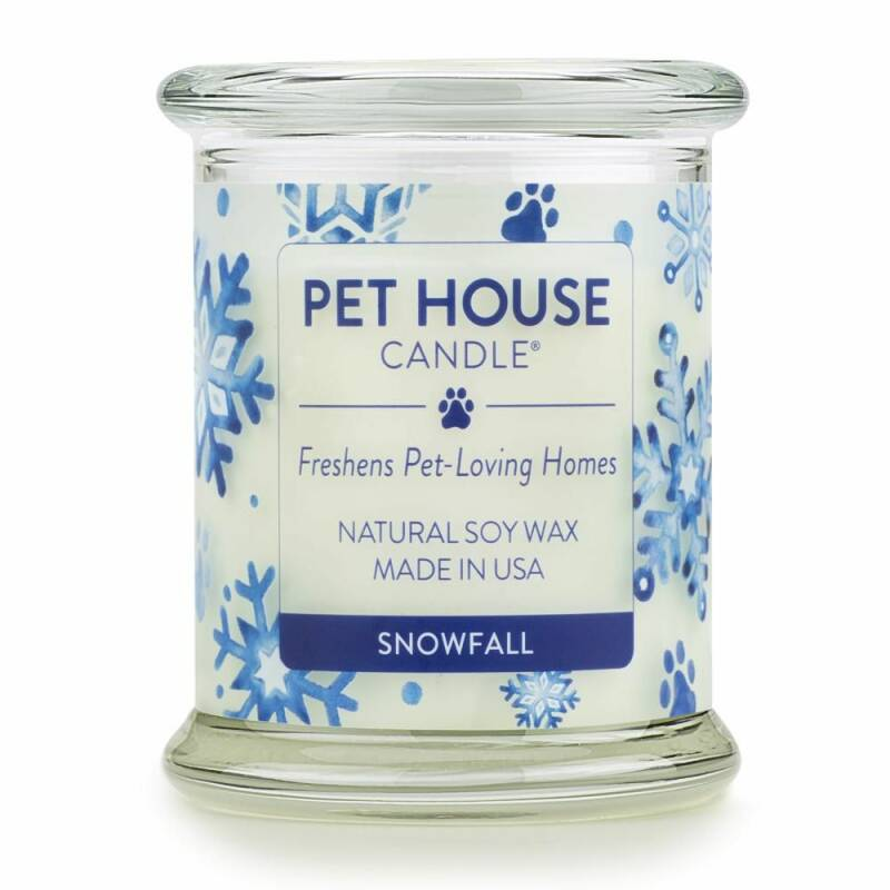 Pet House Candle | Snowfall