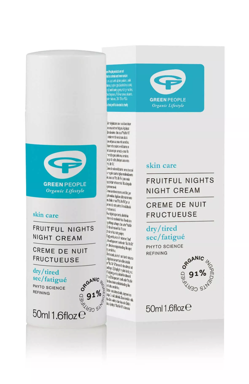 Green People Fruitful Nights Night Cream 50 ml