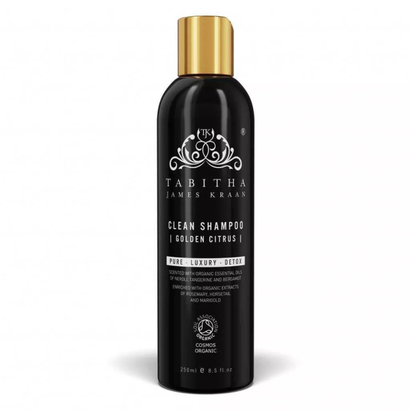 Tabitha James Kraan, Clean Shampoo - Golden Citrus - 250 ml